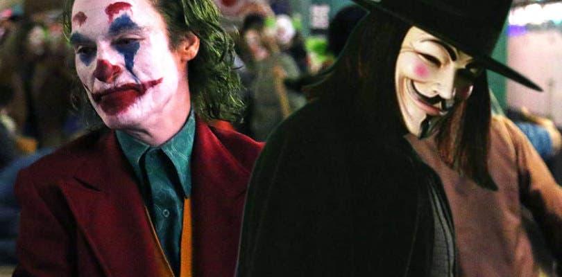 La película del Joker seguiría la crítica política de V de Vendetta