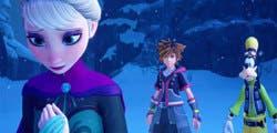Comparan los gráficos de Kingdom Hearts III con la película de Frozen