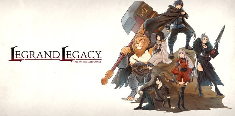 La magia del rol clásico llegará a Switch este mes de la mano de Legand Legacy: Tale of the Fatebounds