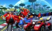 SEGA presenta capturas de un nuevo circuito de Team Sonic Racing, Frozen Junkyard