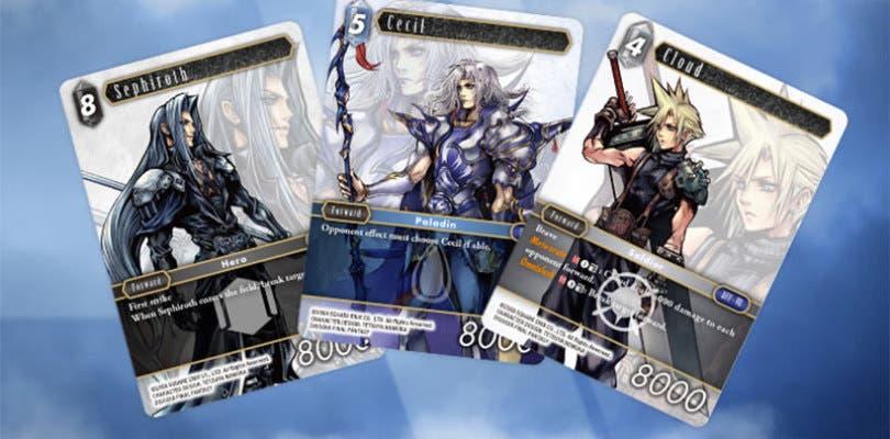 Square Enix anuncia un nuevo título de cartas basado en la saga Final Fantasy