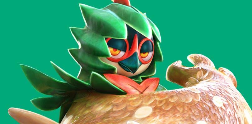 Decidueye estuvo a punto de ser un personaje jugable en Super Smash Bros. Ultimate