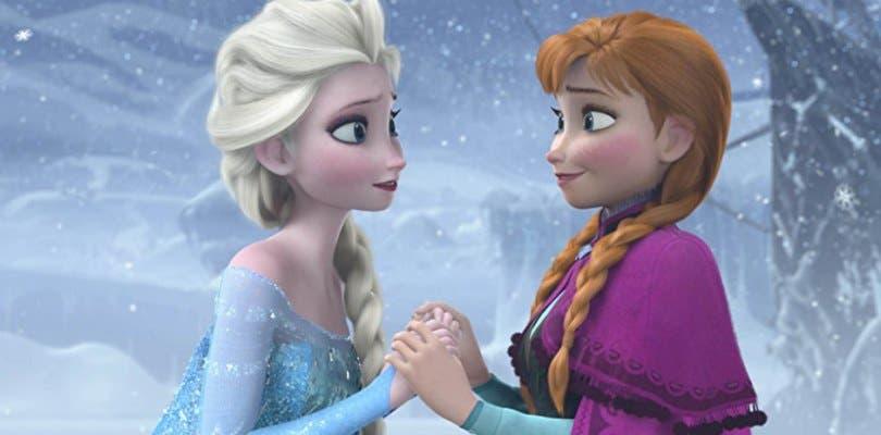 Elsa y Anna viajan fuera de Arendelle imagen filtrada de Frozen 2