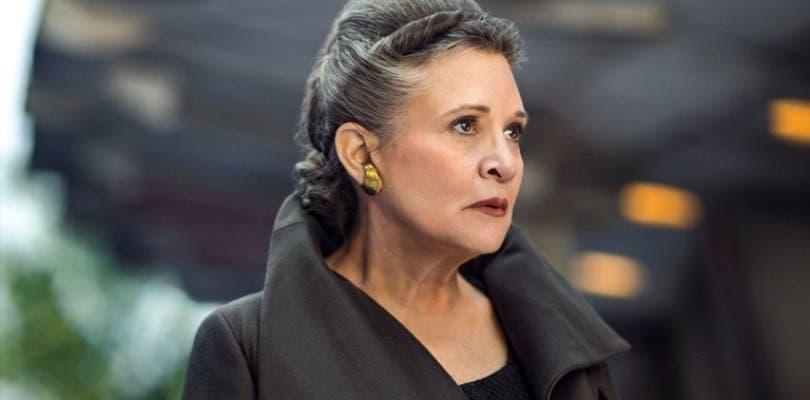 Leia aparecerá en Star Wars: Episodio IX mucho más de lo imaginado