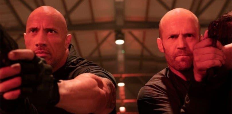 El primer tráiler de Hobbs and Shaw liberará testosterona el próximo viernes