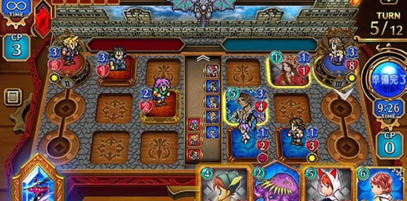 Square Enix anuncia el juego de cartas Final Fantasy Digital Card Game
