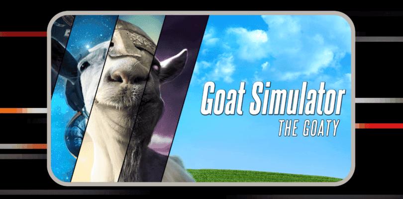Goat Simulator junto a su DLC aterriza por sorpresa hoy en Nintendo Switch