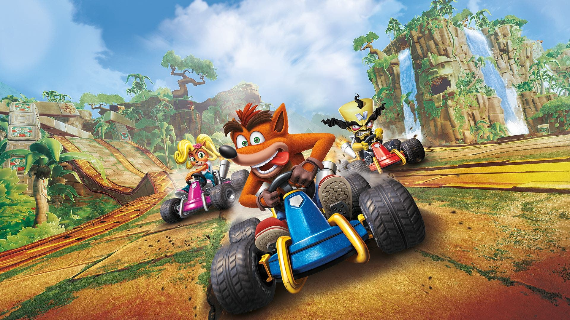Imagen de Crash Team Racing Nitro-Fueled muestra el rediseño de uno de sus escenarios más famosos