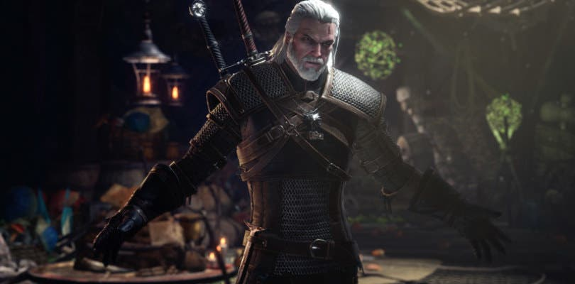 monster hunter: world the witcher III