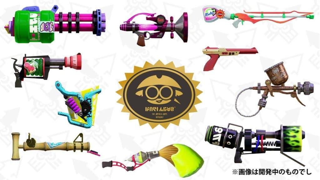 Splatoon 2 recibirá nuevas armas y una nueva demo muy peculiar