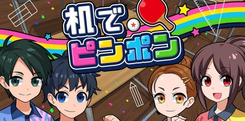 El tenis de mesa vuelve a escena con Tsukue de Ping Pong
