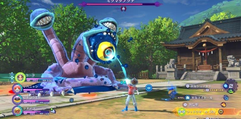 Yo-kai Watch 4 se luce en un completo gameplay