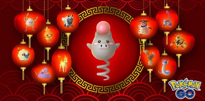 Un nuevo evento conmemora el Año Nuevo Lunar en Pokémon GO