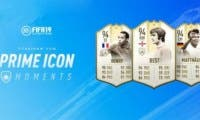 Estos son los primeros Prime Icons Moments que llegan a FIFA 19 Ultimate Team