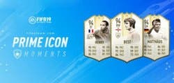 Estos son los primeros Prime Icons Moments que llegan a FIFA 19 Ultimate Team