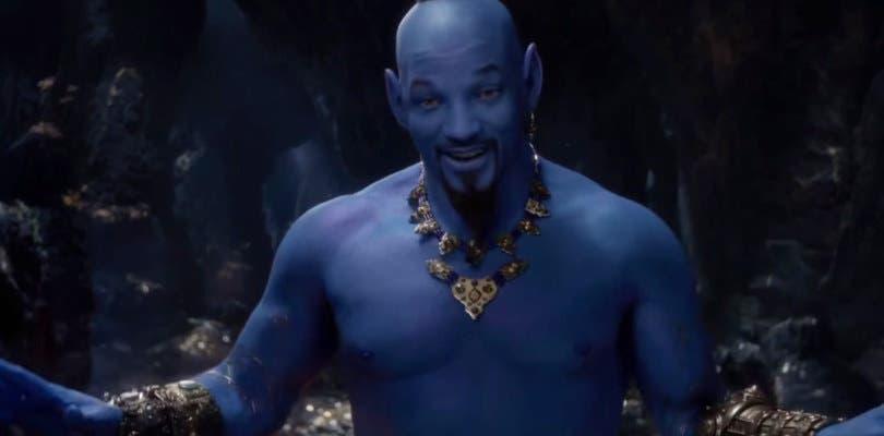 Will Smith es el Genio de la Lámpara en el nuevo teaser de Aladdin
