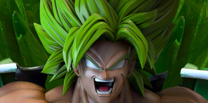 Impresionante figura de Dragon Ball Super: Broly