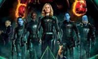 Capitana Marvel reúne a la Starforce en su nuevo y espectacular póster oficial