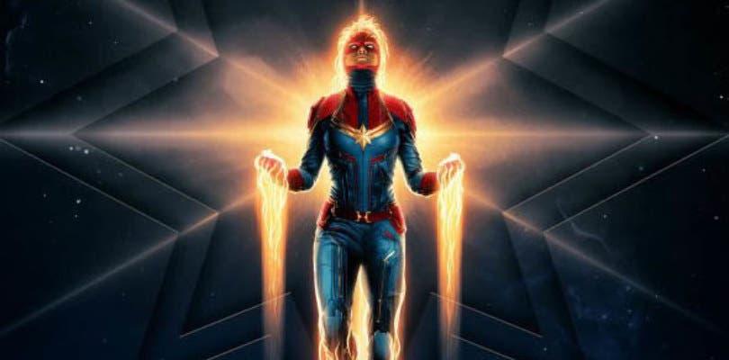 Capitana Marvel despega en uno de los mejores pósteres de todo el año