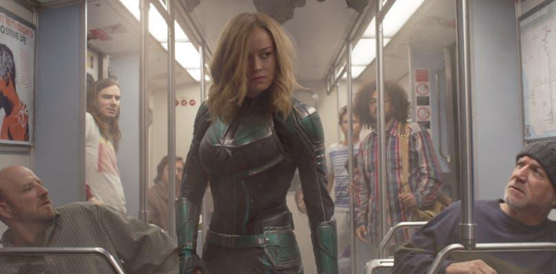 Capitana Marvel destroza con sus primeras impresiones
