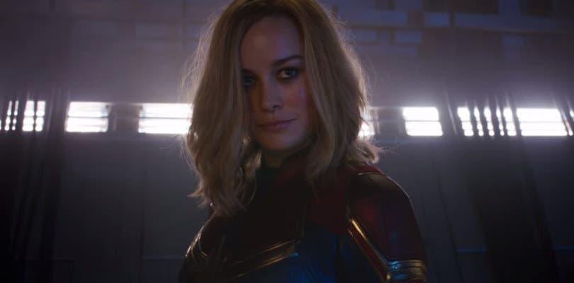 Capitana Marvel rompe todos los límites en su intenso nuevo teaser