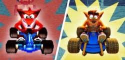 Comparativa de Crash Team Racing Nitro-Fueled con el título original
