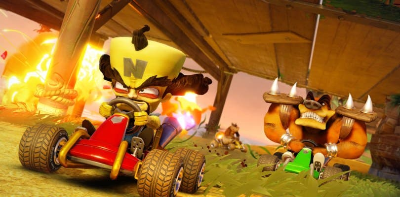 Nuevo tráiler gameplay de Crash Team Racing Nitro-Fueled