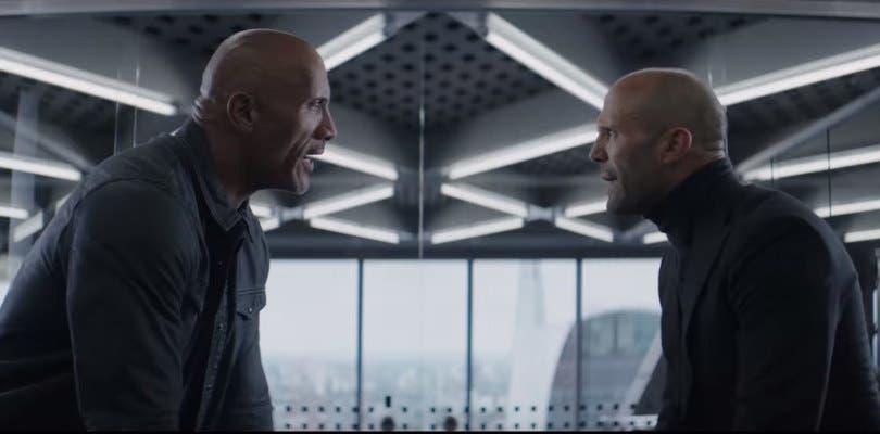 Hobbs and Shaw se disfraza de Misión Imposible en su primer tráiler oficial