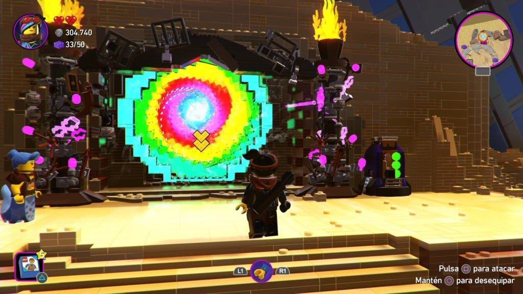 La Lego Película 2: el videojuego Portales