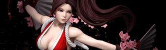 El estudio HMO da vida a una bella Mai Shiranui de la saga The King of Fighters