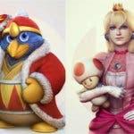 El director de arte de God of War añade nuevos diseños a su colección de personajes de Super Smash Bros.