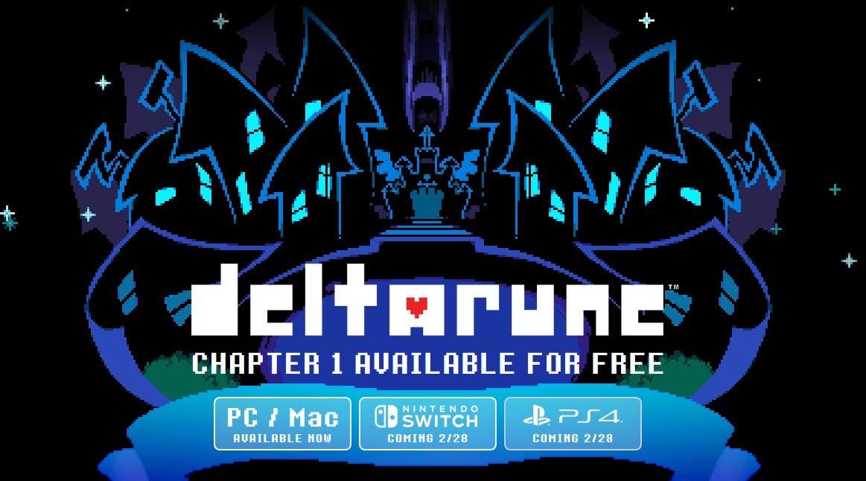 Imagen de Confirmada la fecha de lanzamiento de Deltarune en PlayStation 4