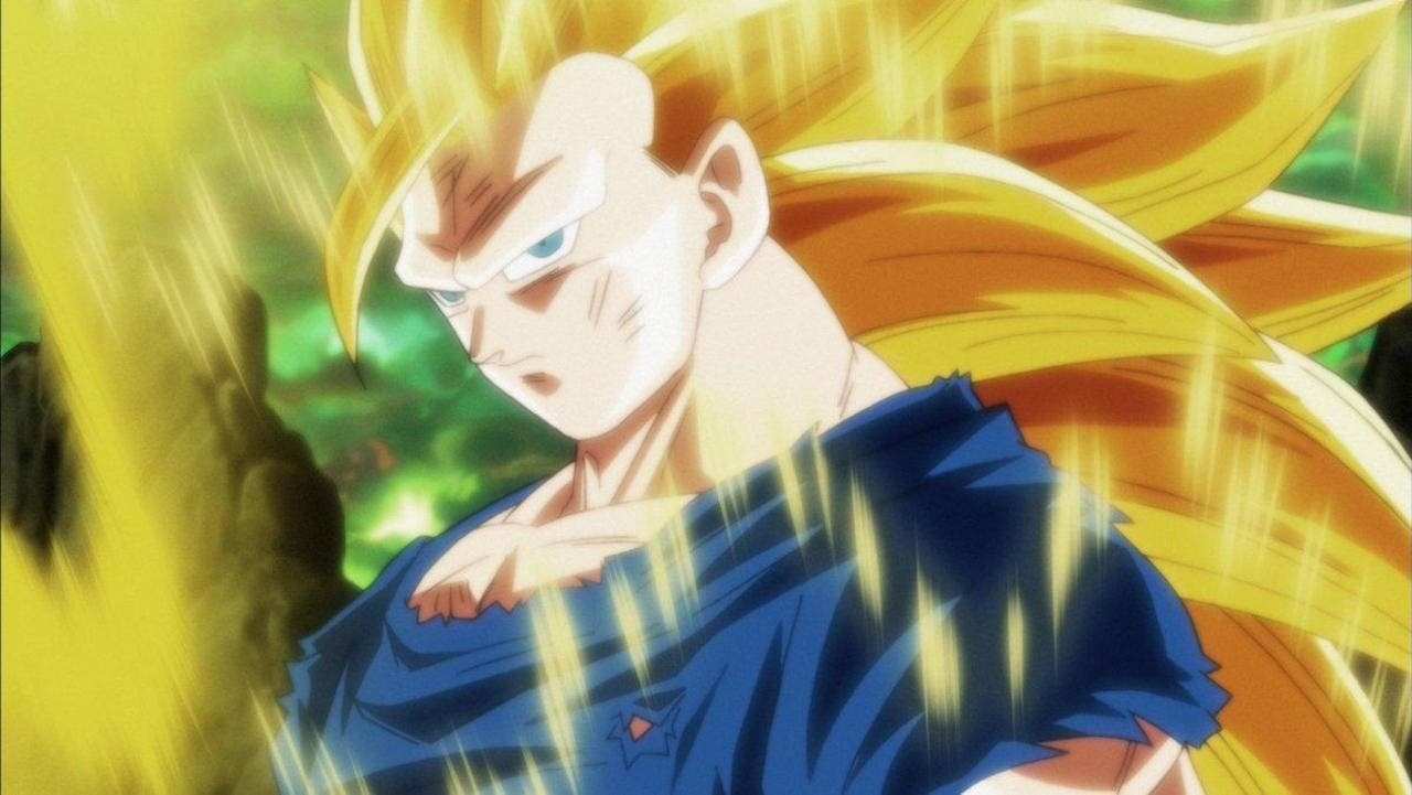 Imagen de Así sería el SSJ 3 de Goku con el estilo de Dragon Ball Super: Broly