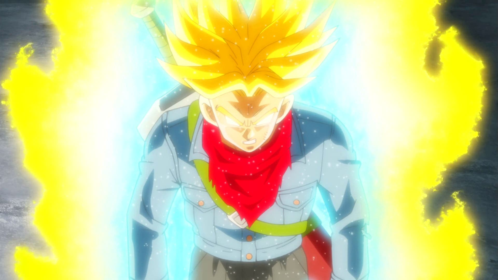 Imagen de Así sería Trunks del Futuro Enfurecido con el estilo de Dragon Ball Super: Broly