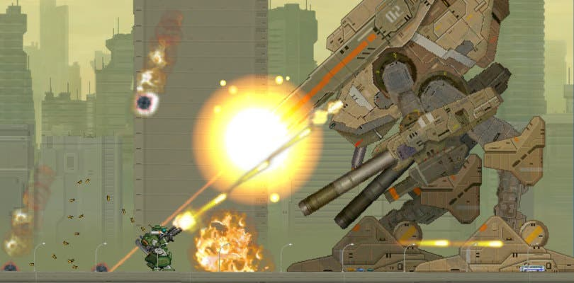Gigantic Army, shooter mecha, confirma llegada a Switch a lo largo de este mes