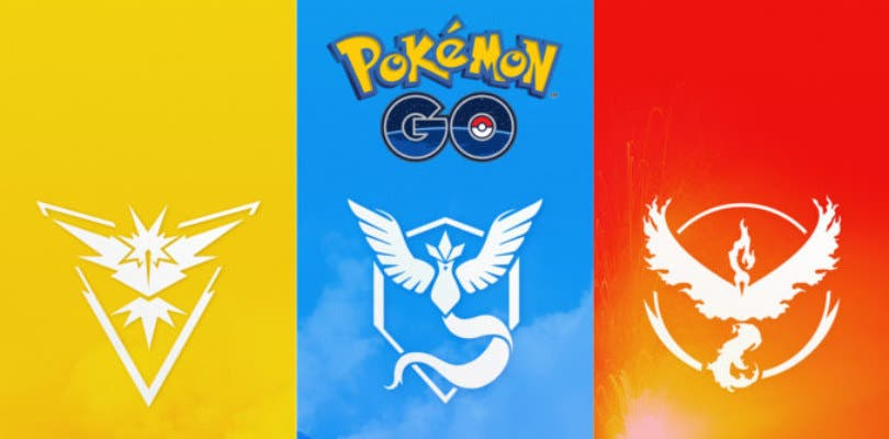 Pokémon GO introducirá oficialmente el cambio de equipo