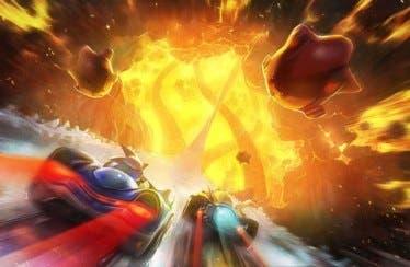 SEGA presenta el circuito Hidden Volcano de Team Sonic Racing