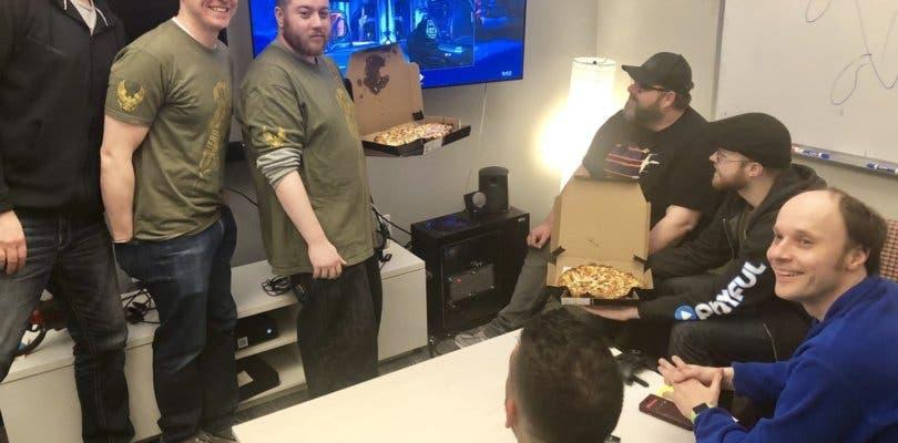 Fans mandan decenas de pizzas a 343 Industries tras el anuncio de Halo en PC