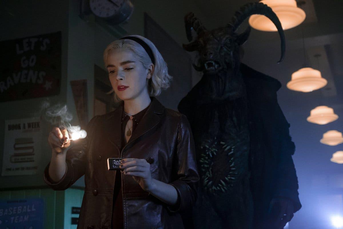 Imagen de La oscuridad reina en el nuevo tráiler de Las escalofriantes aventuras de Sabrina