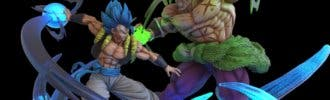 Gogeta principal protagonista de la nueva figura de Dragon Ball Super: Broly