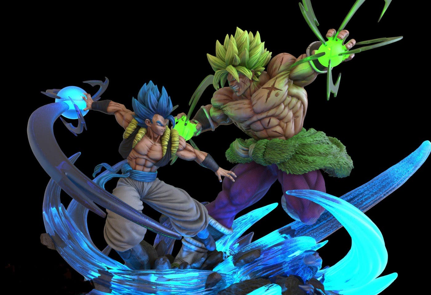 Imagen de Gogeta principal protagonista de la nueva figura de Dragon Ball Super: Broly