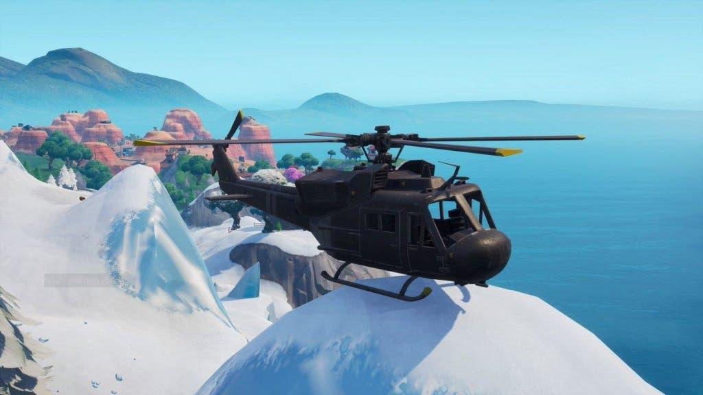 El Misterioso Helicoptero De Fortnite Continua Su Camino Por El Mapa