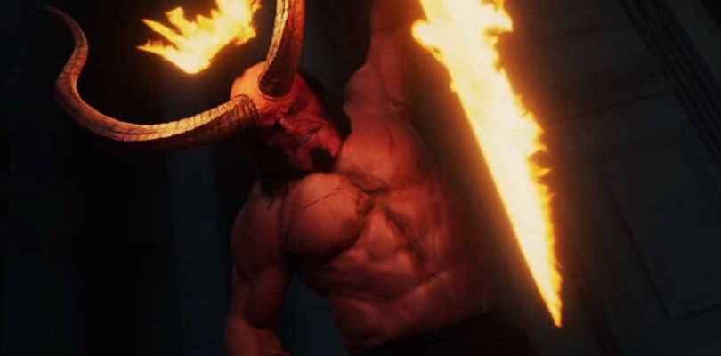 David Harbour combate al inframundo en el nuevo trailer de Hellboy