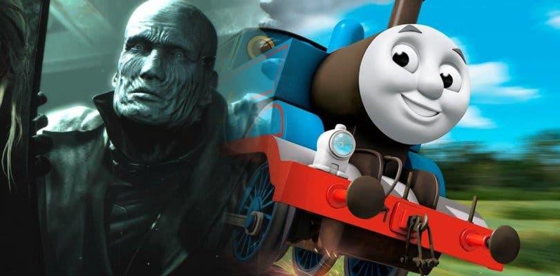 Un mod de Resident Evil 2 le confiere a Mr X el aterrador aspecto del tren Thomas