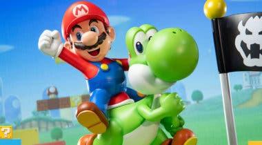 Imagen de First 4 Figures nos presenta una pieza de Mario y Yoshi