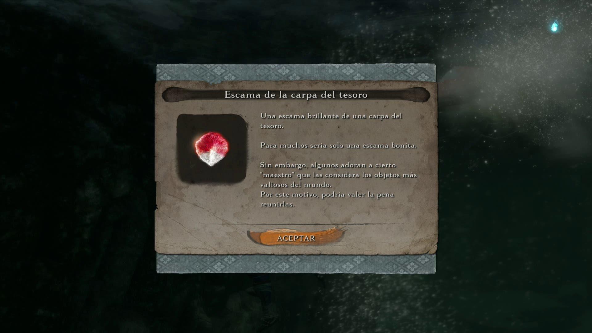Imagen de Sekiro Shadows Die Twice - Guía localización Escamas de la carpa del tesoro