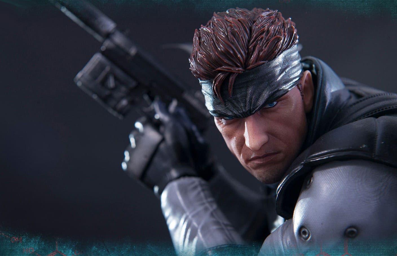 Imagen de Analizamos en vídeo la pieza de Solid Snake creada por First 4 Figures