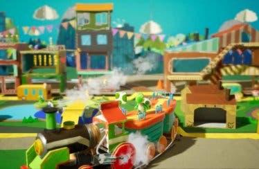 Yoshi's Crafted World muestra su faceta cooperativa en un gameplay