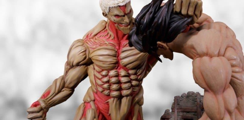 Ataque a los Titanes: La nueva increíble figura de Eren y el Titán acorazado