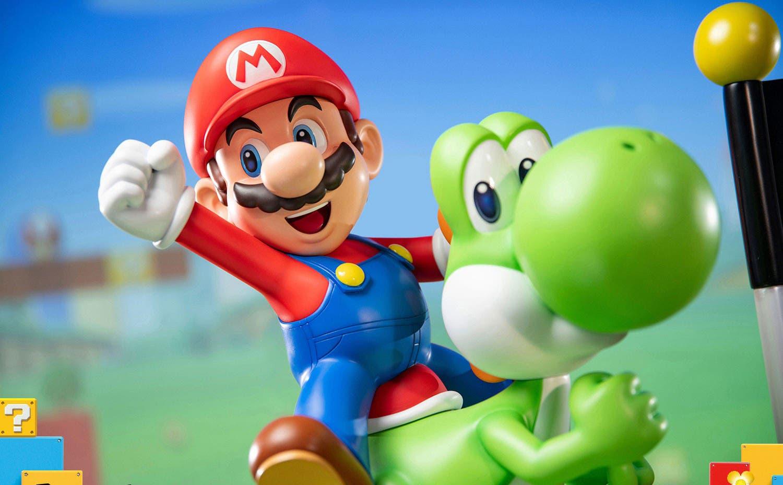 Imagen de First 4 Figures abre las reservas de su imponente pieza de Mario y Yoshi